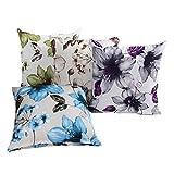 LAZAMYASA Printed Rose Cover Pillows Case Soft