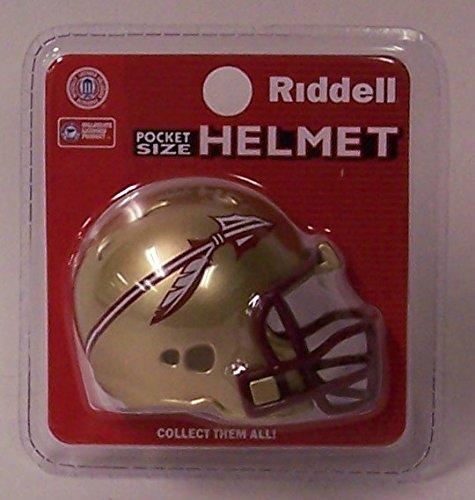 Riddell Ncaa Football - FSU Florida State Seminoles Riddell Revolution Pocket Pro NCAA Football Helmet