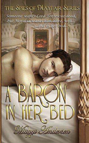 book cover of A Baron in Her Bed