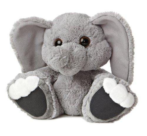 Aurora World Taddle Toes Stomper Elephant Plush, 10
