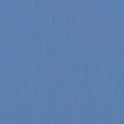 Kaufman Perfecto Poplin Mediums Denim Fabric by The Yard