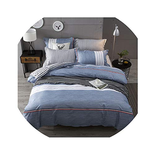 Bedding Set Luxury Pink Love & Freedome3/4pcs Family Set Include Bed Sheet Duvet Cover Pillowcase Boy Room Flat Sheet No Filler 2019 Bed,Zak1,Full Cover - Zurich Pillow Bed