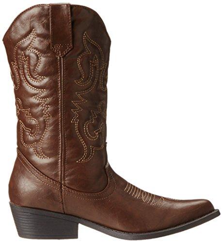 Madden Girl Women's Sanguine Boot,Brown Paris,6.5 M US