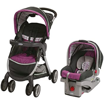 Amazon.com : Graco FastAction Fold Stroller Click Connect ...