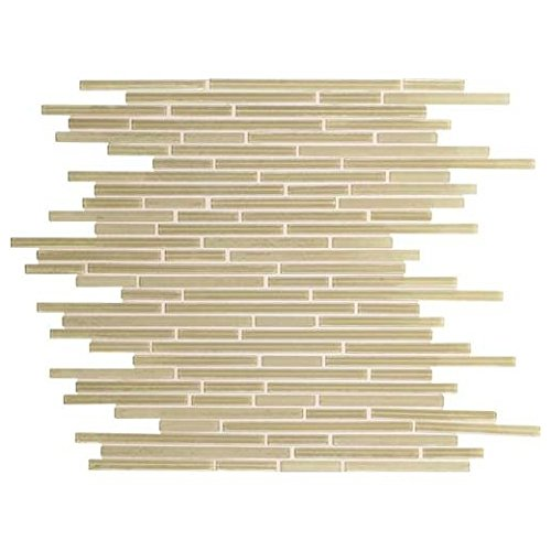 Caprice Tile Creme Soda F168 Glass Backsplash