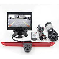 Eway Car 3RD Brake Light Rear View Backup Parking Reversing Camera With 7Inch LCD Monitor Kits For Mercedes-Benz Sprinter / VW Crafter Vans