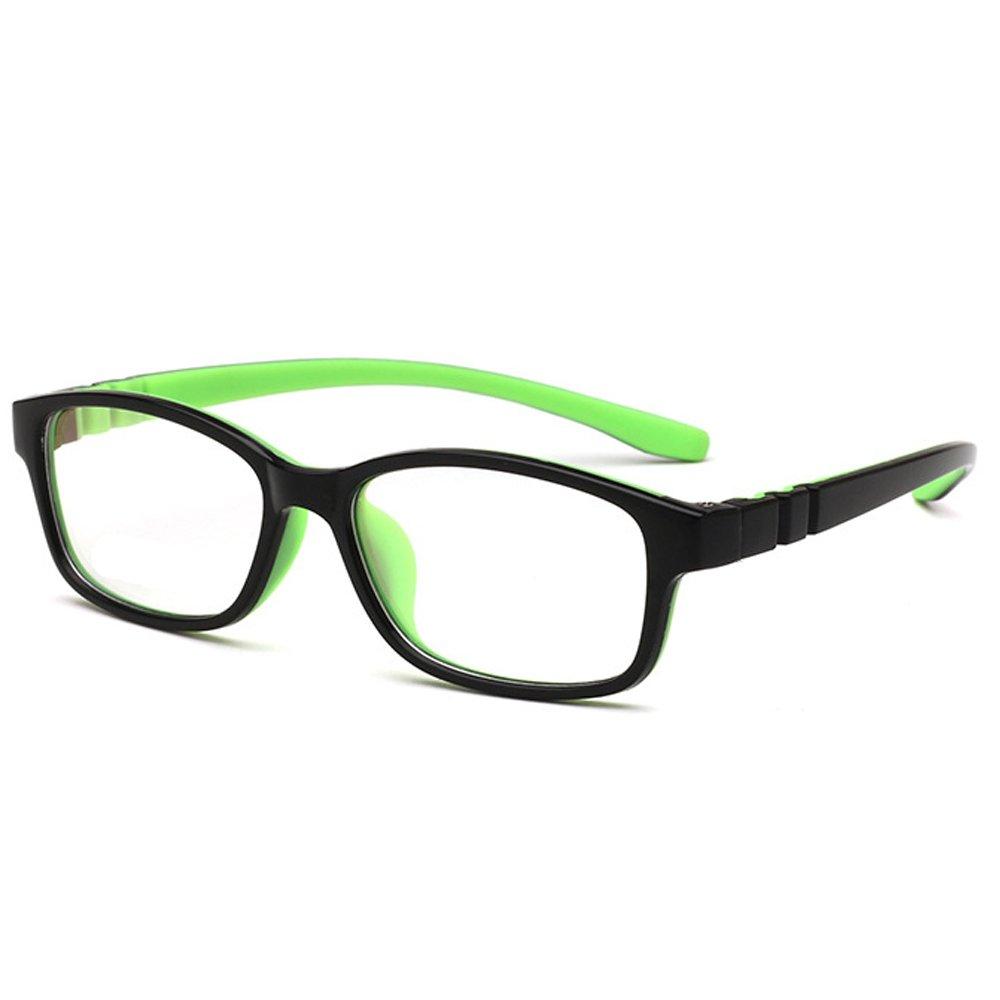 Fantia Children With Amblyopia Frame Ultra Light TR90 Boys and Girls Eyeglass (C3)