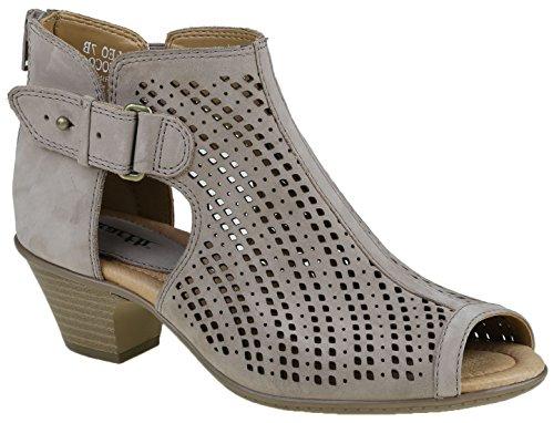 Keri Wedge Earth Origins Women's Sandal Taupe nHvUHx