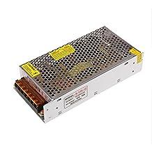 Lemonbest 12V 10A 120W Power Supply Transformer Converting 110- 220V AC to 12V DC for LED Strip Lights