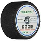 Toolocity GSB0046G 4-Inch Green Grinding Stone 46 Grit with 5/8-11 Thread