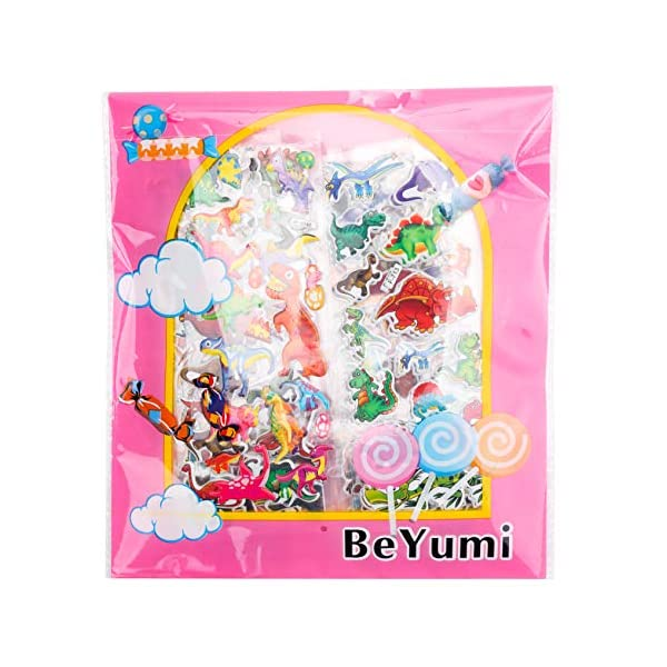 BeYumi Stickers for Kids and Adults,Great for Colorful Decorations, Party Supplies Favors, Birthday Gift, Reward Stickers 8
