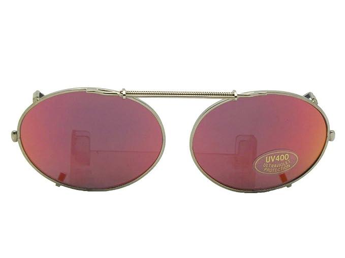 Amazon.com: Espejo oval color gris de la lente No ...