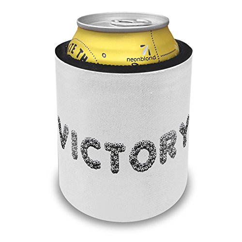 Slap Can Coolers Victory Soccer / Futbol Balls Insulator Sleeve Covers Neonblond