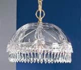 Classic Lighting 8221 G SC Prague, Crystal All Glass, Light...