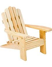 3 Adirondack Chairs Natural Cake Top Beach Theme Wedding by Darice