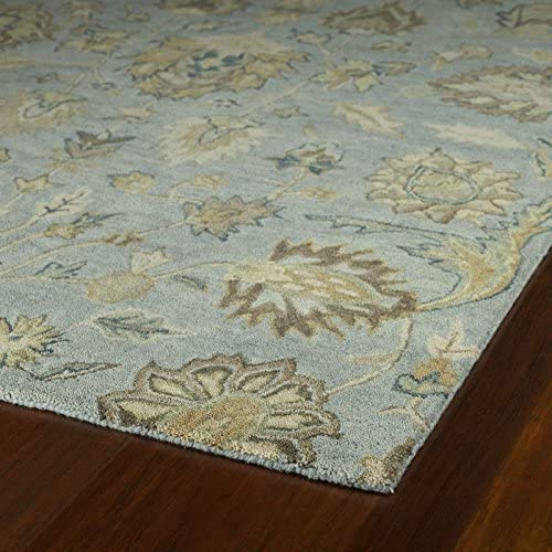 Kaleen Rugs Helena Collection 3203-56 Spa Hand Tufted 8 X 10 Rug
