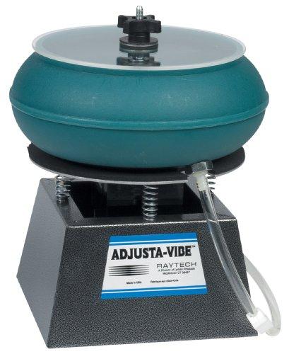 Raytech 23-024 AV-18 Standard Vibratory Tumbler with Drain, 0.18 Cubic feet Bowl Capacity, 115V, 60 Hz