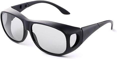 AMY Gafas 3D Pasivas, Gafas 3D Polarizadas Unisex, Envoltura Polorizada para Usar con Reald Movies Cinemas, Televisores Y Proyectores: Amazon.es: Deportes y aire libre