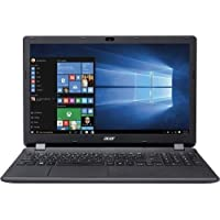 Acer Aspire ES1-512-C1PW 15.6 Laptop Computer - Diamond Black; Intel Celeron N2840 Processor 2.16GHz; Microsoft Windows 10; 4GB DDR3L SDRAM; 500GB 5,400RPM Hard Drive