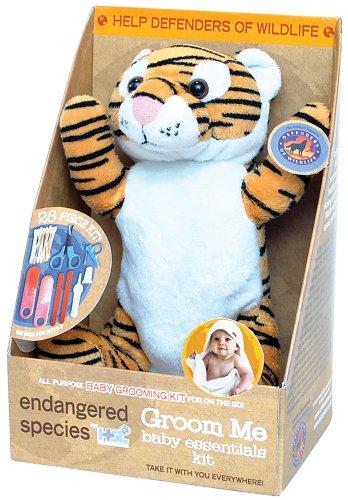 Endangered Species by Sud Smart Groom Me Baby Essentials Kit, Leopard, Health Care Stuffs