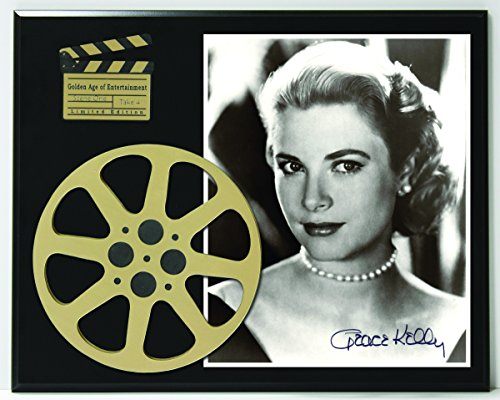 "Grace Kelly Limited Edition Reproduction Autographed Movie Reel Display ""K1"""