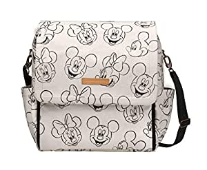 Petunia Pickle Bottom BBDS-557-00 Boxy Backpack, Sketchbook Mickey & Minnie