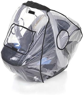 sunnybaby 13222- Universal Regenverdeck Regenschutz f/ür Babyschale abdeckbare Trage/öffnung | Kontaktfenster z.B. Maxi Cosi, Cybex, Kiddy uva. Qualit/ät: MADE in GERMANY Baby-Autositz glasklar