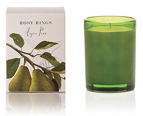 Rosy Rings Anjou Pear Botanica Glass Candle (Olive) Pear Olive