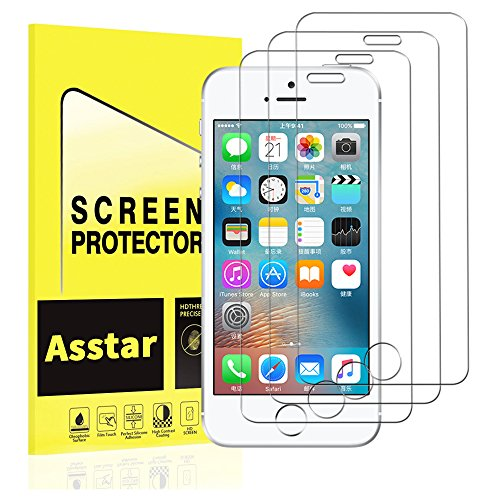 Tempered Front and Back Glass Screen Protector for iPhone SE/5S/5 - 2