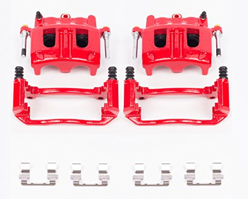 Power Stop S4758 High Performance Front Caliper - Pair ()