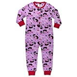 Disney Official Licensed Onesies Pyjamas PJS Nightwear Frozen | Monster High | My Little Pony | Minion For Girls Kids Size 1-10 Years-6 Years-Design 7