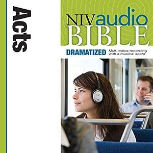 NIV Audio Bible, Dramatized: Acts Audiobook