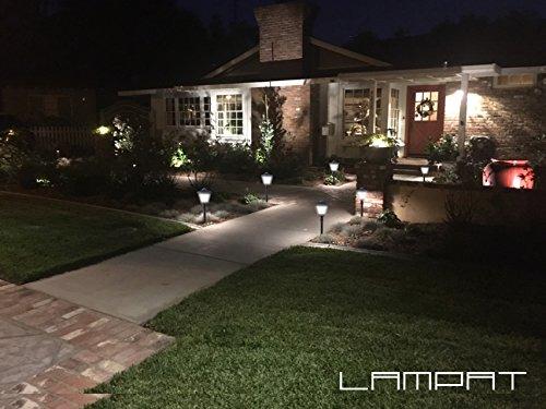Lampat Solar Lights 108 Led Decorative Columns Post