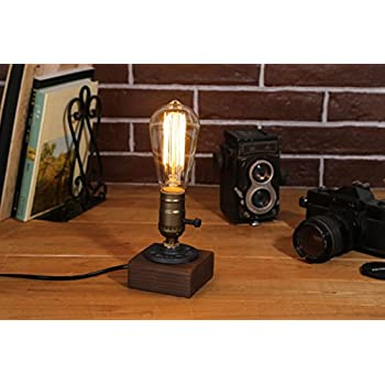 Amazoncom Kiven Vintage Industrial Decor Vintage Table Light
