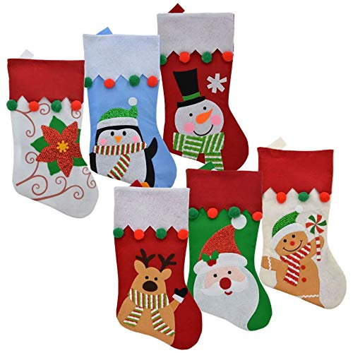 Christmas Stocking Decorations Celebrate a Holiday Personalized 18