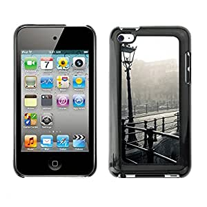 Hot Style Cell Phone PC Hard Case Cover // M00103242 photos white black and // Apple ipod Touch 4 4G 4th