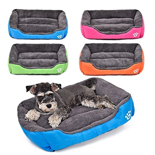 ZEVRA Pet Dog Cat Bed Puppy Cushion House Pet Soft Warm Kennel Dog Mat Blanket 4 - Home Next Uk Shopping
