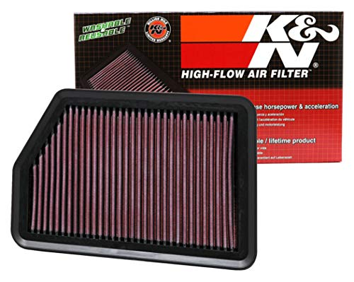 K&N engine air filter, washable and reusable:  2010-2019 Hyundai/Kia (i40, Elanta GT, i30, i30 II, Elantra, i30 III, ix35, Tucson, Elanta Coupe, Carens, cee d, Forte, Forte 5, Certao, K3, K2) 33-2451