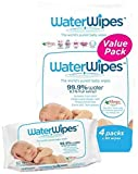 Health & Personal Care : WaterWipes Value Bag Baby Wipes, 4 packs of 60 Count | 240 wipes by Irish Breeze