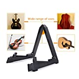 Guitar Stand, Foldable Instrument Stand ABS