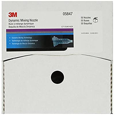 3M Dynamic Mixing System Nozzle for Fillers & Glazes, 05847, 50 nozzles per carton: Garden & Outdoor