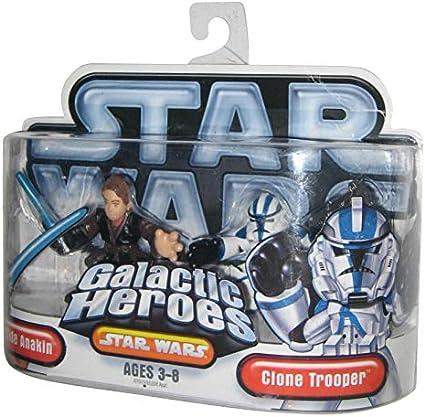 SW Galactic Heroes Anakin Skywalker Clone Trooper NEW