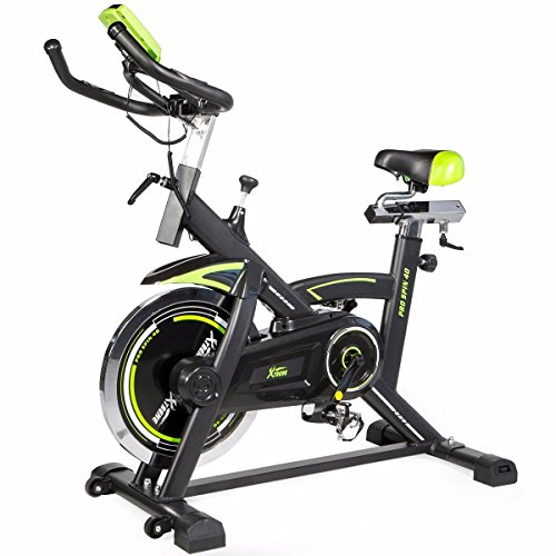 Pro fitness Stationary spinning Exercise Bike Cardio Indoor Cycling Bicycle 40lb
