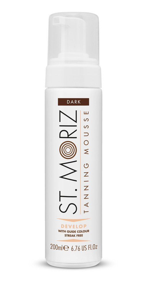 St Moriz Instant Self-Tanning Mousse 1 Hour Fast Tan Darker Than Dark 200ml 712.171
