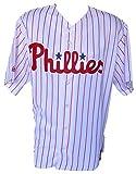 Philadelphia Phillies Majestic Replica Pinstripe Jersey Size 2XL
