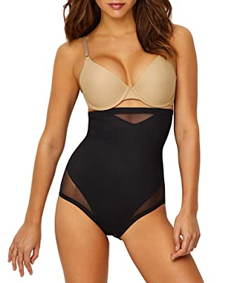 1cc7aad8db5 Miraclesuit Extra Firm Control Sexy Sheer High-Waist Brief at Amazon  Women s Clothing store
