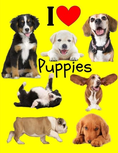 I Love Puppies: Puppy Notebook for Kids: Blank Notebook for Drawing and Writing (Blank Notebooks and Journals) ()