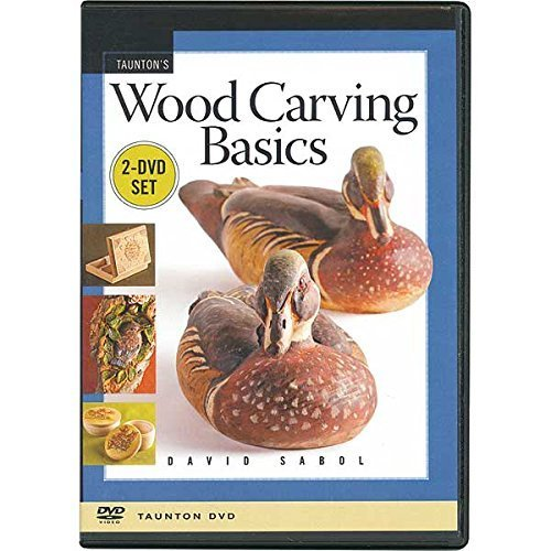 Wood Carving Basics 2 DVD Set