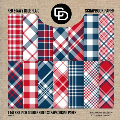 Highlander Tartan Digital Printable Scrapbook Craft Paper 8.5 x 11 Plaid Scottish Green Blue Navy PUCU Commercial Use A4