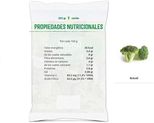 Florette Bolsa de Brócoli Micro al Vapor, Especial Microondas 225 Gramos